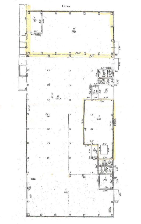 Производственная площадь под аренду